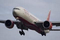 Air India B777-337ER VT-ALR (rhietbrink) Tags: london canon heathrow boeing 777 triple londen b777 egll 100400