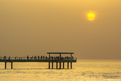 Souk Sharq Sunset (Azarbhaijaan) Tags: sunset sky colours kuwait baghdadi pakistaniphotographer pentaxk10d azharmunir drpanga