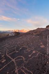 Sky Rise (Jared Ropelato) Tags: art night landscape star ancient native cliffs nativeamerican petroglyph rockart easternsierras ancientart 2015 skyrock jaredropelato