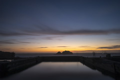 Passage (eCHstigma) Tags: ocean sf longexposure sunset bw seascape clouds zeiss coast rocks waves dusk sony scenic peaceful calm bayarea sutrobaths sfbayarea f2 tranquil a7 mystic lansdscape 25mm distagon 10stop zf2 distagont225 ilce7