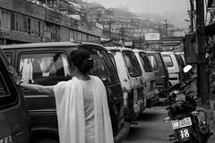 Portrait, Darjeeling West Bengale  India (mafate69) Tags: street city portrait bw woman india cars asia noir noiretblanc candid femme photojournalism documentary nb asie himalaya et blanc darjeeling himalayas ville voitures inde reportage urbanlandscape streetshot southasia subcontinent documentaire photojournalisme photoreportage blackandwhyte earthasia himalayasproject mafate69 souscontinent westbengale