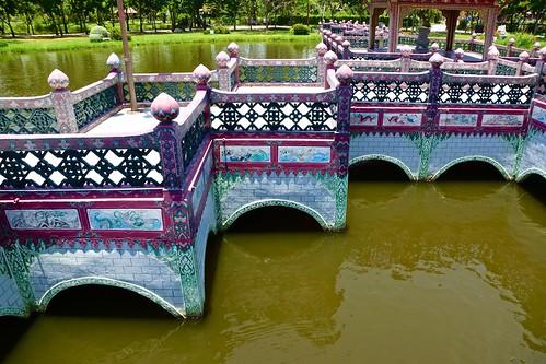 Sala of Ramayana in Muang Boran (Ancient Siam) in Samut Prakan, Thailand