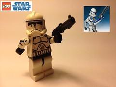 Lego Star Wars: Tup (Cobalt Customs) Tags: dark star lego 501st wars custom clone customs matter tup