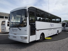 Signature 14 (Coco the Jerzee Busman) Tags: uk bus islands coach signature cannon toyota jersey coaster channel lcb