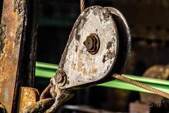 Henrichshtte (stephan.habrich) Tags: museum deutschland nrw makro metall farbe ruhrgebiet henrichshtte hattingen bunt werk nachtaufnahme stahl eisen historisch winde httenwerk stahlhtte idustrie