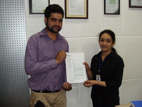 Counsellor handling Australia Student visa to Amrinder Singh