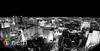 Las Vegas Strip at Night in Black and White (Cathy Neth) Tags: city blackandwhite skyline landscape cityscape lasvegas ferriswheel lasvegasstrip lasvegasskyline project365 lasvegasatnight lasvegaslights 365project 365photoproject flowermoundphotographer cathyneth cnethphotography highrollerferriswheel flowermoundphotography 2015inphotos