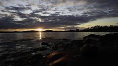 Sunstar (pelindquist) Tags: sunset sea reflections nikon hav stenungsund solnedgång reflektioner kåkenäs nikond750 afsnikkor20mm118ged