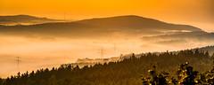 Nebeltal (matthias_oberlausitz) Tags: beiersdorf bieleboh oberlausitz cunewalde tal hochspannungsmasten masten strommasten nebel