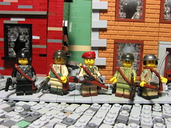 Brick and Mortar Cover Photo (Sgt._Johnson) Tags: lego wwii town
