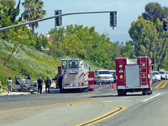 Fire And Rescue At Work 7-26-16 (2) (Photo Nut 2011) Tags: sandiego california ranchobernardo firedepartment fireengine firetruck accident