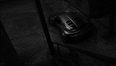 My Sinful Muse. (VisualEchos) Tags: bw white black nikon iron downtown lotus elise 14 dirty yokohama 35 dank d800 wrought seedy exige advan xxr neova xxr527 ad08r juztoposition