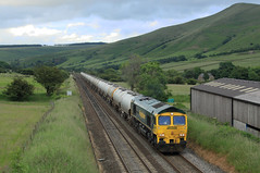 Freightliner 66601 @ Edale (Sicco Dierdorp) Tags: forest hope district cement shed peak valley edale freightliner class66 frl chinley tunstead cementtrein