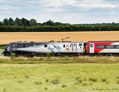 Class 91 91110 Virgin Trains ECML Battle Of Britain Memorial Flight_8030506 (Jonathan Irwin Photography) Tags: class 91 91110 virgin trains ecml battle of britain memorial flight colton junction south