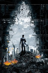Into the Darkness (Bel's World) Tags: startrek daz 3dmodeling scifi sciencefiction debris dystopia
