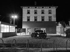 Small city night 3 (Paramedix) Tags: germany bw sw schwarz weis deutschland badenwrttemberg oberndorf mft olympus em5 night nacht