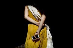 Connected dream (Calinore) Tags: woman france back phone femme paca dos contraste arles fille telecommunication iphone feminity grild feminit provencesarlescotedazur