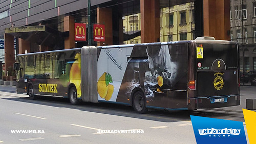 Info Media Group - Simex Viljamovka, BUS Outdoor Advertising, Sarajevo 07-2016 (2)