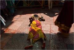 surrender, saundatti (nevil zaveri (thank you for 10million+ views :)) Tags: people woman india feet wet temple photography photo blog women worship photographer photos stock images photographs photograph bow mp devotee karnataka zaveri saree darshan stockimages pilgrims nevil yellamma pranaam saundatti nevilzaveri dandavat