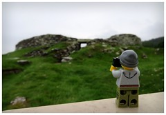 Broch-tastic (Macsen Wledig) Tags: lego legodan caithnessbrochproject caithness sutherland broch bricktothepast fieldtrip carnlaith scotland alba highlands historicscotland