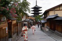 Yasaka Pagoda  (nyachimog) Tags: tower kyoto  kimono  yasaka   houkanji