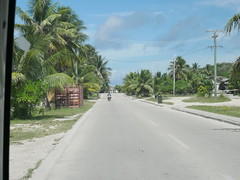 Ring road, Nauru.