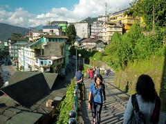 . (S_Artur_M) Tags: street city travel people india lumix panasonic himalaya indien sikkim reise gangtok tz10