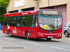 Trent Barton 679 FJ55 AAZ Matlock SIXES (The Great Innuendo) Tags: matlock bus trent barton derbyshire sixes scania wright solar derby zigzag