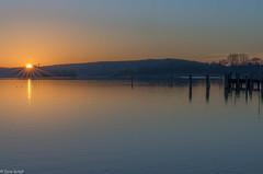 last light (zora_schaf) Tags: sunset sonnenstrahl sunbeam ammersee bayern bavaria see blau zoraschaf stegen licht light orange lichtstrahl