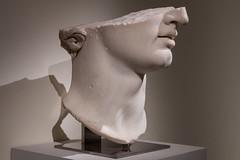 Fragmentary Colossal Head of a Youth (Robert Wash) Tags: newyork ny newyorkcity nyc manhattan metropolitanmuseumofart met pergamonandthehellenistickingdomsoftheancientworld greek hellenisticperiod statue art sculpture colossal marble