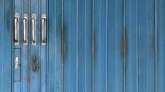 4x4 (TablinumCarlson) Tags: indonesia indonesien bali tr door leica dlux 6 denpasar puputan asien asia entry 4x4 vier four tor rolltor garage blau blue minimalismus minimalism