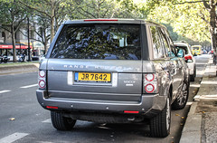 Luxembourg - Land Rover Range Rover Vogue TDV8 (PrincepsLS) Tags: luxembourg license plate germany berlin spotting land rover range tdv8 vogue