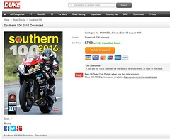 DVD COVER PHOTO (protec-images.co.uk) Tags: michael dunlop duke video dvd southern 100