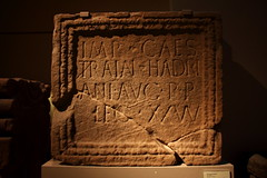 866Hadrianic inscriptionMoresby (queulat00) Tags: roma romanempire britishmuseum imperioromano word hadrian adriano hadrianwall