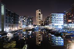 Clarence Dock (Alan-Taylor) Tags: uk longexposure england reflection canon yorkshire leeds clarencedock 70d