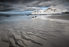 skagsanden beach - flakstad (christian.denger) Tags: ocean beach norway stone clouds landscape eos long exposure atlantic lee lofoten haida 6d nordland flakstad skagsanden 1635mmf4l