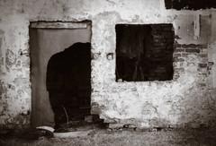 empty (Barbara.K) Tags: old decay ruin monochromatic desolate canon500d alienskinexposure canonefs55250mm canonrebelt1i