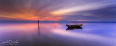 Amnesia - Ria de Aveiro (paulosilva3) Tags: world mist portugal sunrise canon de landscape eos lee filters ria aveiro waterscape 6d polariser murtosa proglass