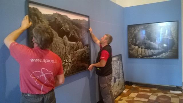 La Grande Guerra. I luoghi e l'arte feriti - allestimento
