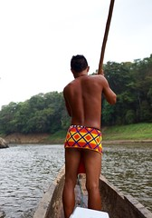 Our young Embera guide (MessieAdventures) Tags: water colors rainforest village sony canoe wanderlust guide panama embera panamacity carlzeiss