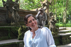 Allie and the Macaque