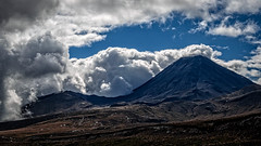 Mt Ngaruahoe aka 'Mt Doom' (Nom is) Tags: clouds volcano mt doom tongariro ngaruahoe