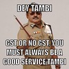 Listen to the captain when it comes to #GST #malaysia #malaysian #deytambi