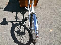 Metrofiets in der Sonne! (raffizack) Tags: bicycle oregon nijmegen portland cycle netherland velo cargobike nimwegen hpv humanpower lastenrad metrofiets internationalcargobikefestival