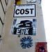 Streetart by Tona, Gzup, Enx, Cost, Miss Fuck...[Paris 4e]