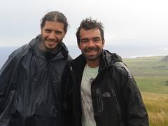 """Avec notre compagnon de route Baptiste <a style=""""margin-left:10px; font-size:0.8em;"""" href=""""http://www.flickr.com/photos/83080376@N03/17063308969/"""" target=""""_blank"""">@flickr</a>"""