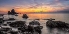 Blue hour (marzio.lanzoni@libero.it) Tags: travel sunset sea sky italy seascape clouds landscape italia tramonto nuvole cloudy outdoor cielo viaggio paesaggio nuvoloso rivatrigoso asseau