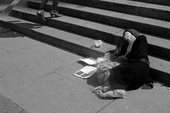 Desolation # 13 (G.Francalanci) Tags: people bw milan nikon milano bn persone d100 piazzadelduomo