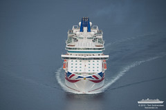 Britannia (Aviation & Maritime) Tags: cruise norway po cruiseship bergen britannia pocruises