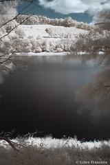 Coo Lake (gillesfrancotte) Tags: longexposure sun lake water landscape ir nikon eau outdoor ardennes july lac infrared juillet stavelot coo hoya d800 waterscape 2016 r72 hoyar72 infrarouge amblve